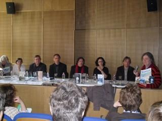 Predstavitev slovenskih avtorjev na knjižnem sejmu v Budimpešti 2011