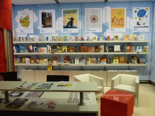 Slovenska stojnica na knjižnem sejmu v Bologni 2012
