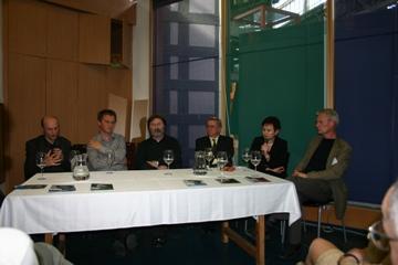 Predstavitve slovenskih avtorjev na knjižnem sejmu v Budimpešti 2012