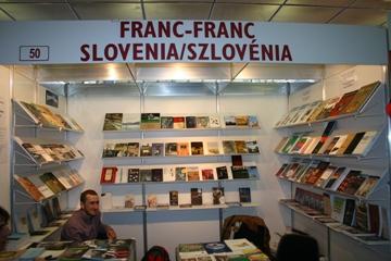 Založba Franc-Franc na knjižnem sejmu v Budimpešti 2012