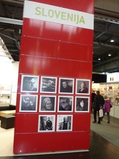 Slovenska stojnica na knjižnem sejmu v Leipzigu 2012