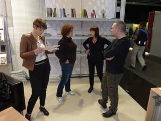Slovenski avtorji na JAK stojnici v Leipzigu 2012