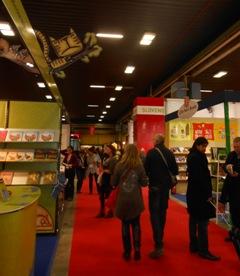 Stojnica Mladinske knjige na knjižnem sejmu v Bologni 2013
