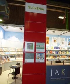 Slovenska stojnica na knjižnem sejmu v Bologni 2013