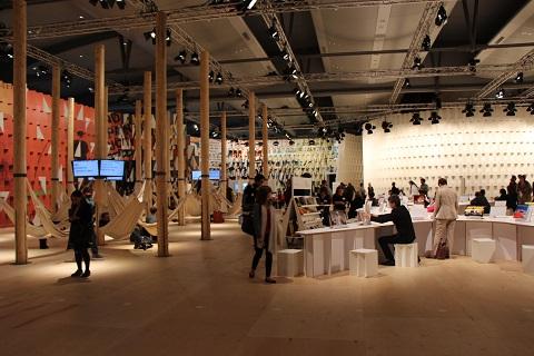 Razstavni prostori frankfurtskega knjižnega sejma 2013
