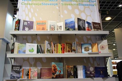 Predstavitev slovenske knjižne produkcije na frankfurtskem knjižnem sejmu 2013