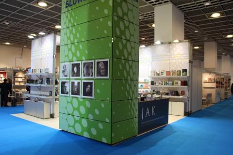 Slovenska stojnica na frankfurtskem knjižnem sejmu 2013