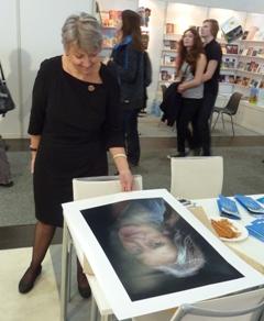 In memoriam Maruša Krese na knjižnem sejmu v Leipzigu 2013