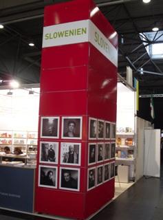 Slovenska stojnica na knjižnem sejmu v Leipzigu 2013